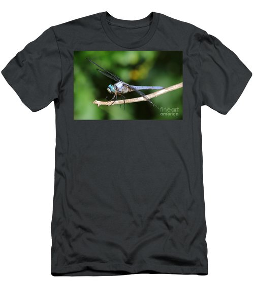 Dragonfly Portrait Men's T-Shirt (Athletic Fit)
