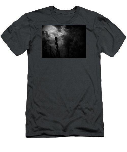 Dragon Noir Men's T-Shirt (Slim Fit) by Tim Good