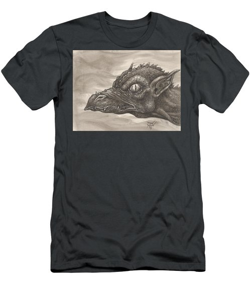 Dragon Portrait No. 2 Men's T-Shirt (Athletic Fit)