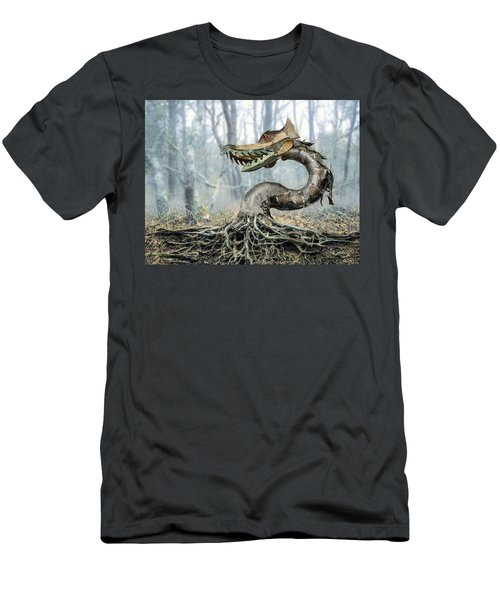 Dragon Root Men's T-Shirt (Athletic Fit)