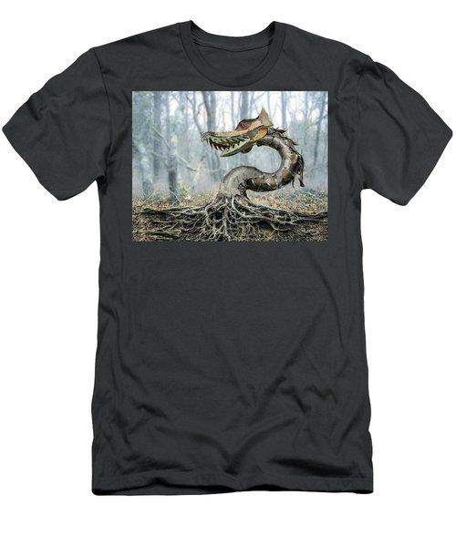 Dragon Root Men's T-Shirt (Athletic Fit)