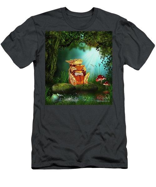 Dragon Tales Men's T-Shirt (Athletic Fit)