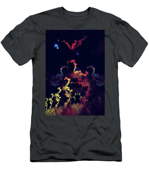 Dragons - Abstract Fantasy Art Men's T-Shirt (Athletic Fit)