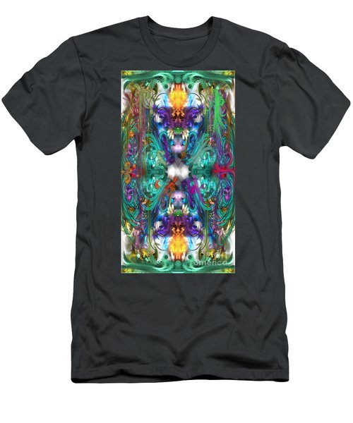 Dragons Of The Temple Men's T-Shirt (Athletic Fit)