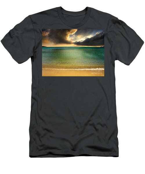 Drama At The Beach Men's T-Shirt (Athletic Fit)