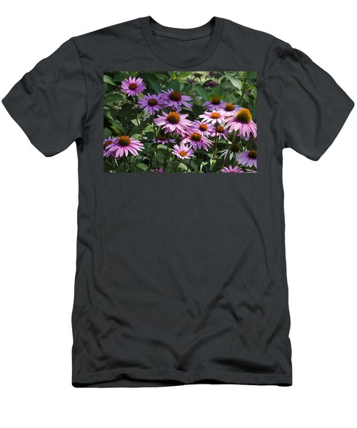 Dramatic Coneflowers Men's T-Shirt (Athletic Fit)