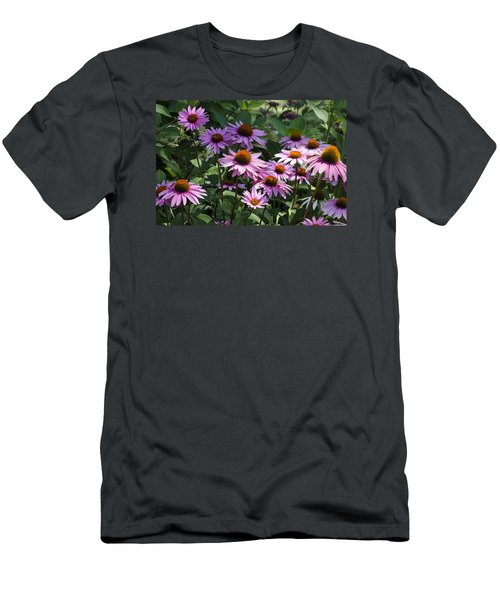 Dramatic Coneflowers Men's T-Shirt (Athletic Fit)