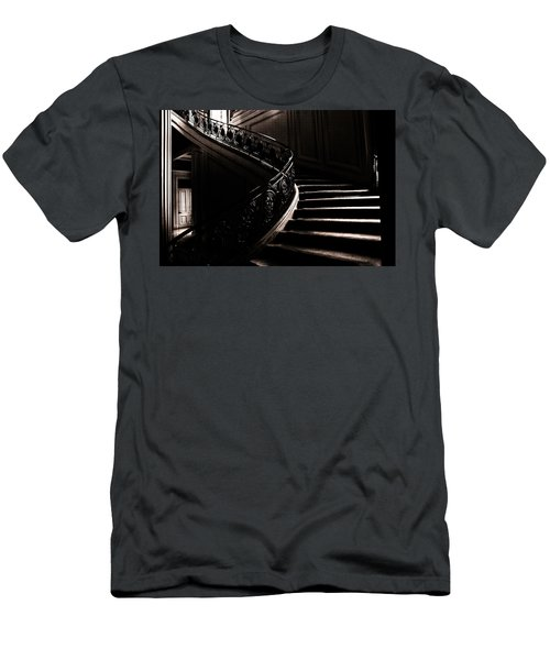 Dramatic Stairway Scene  Men's T-Shirt (Athletic Fit)