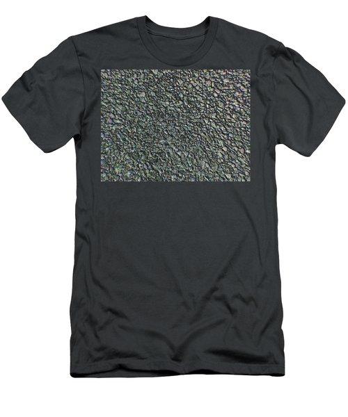 Drawn Pebbles Men's T-Shirt (Athletic Fit)