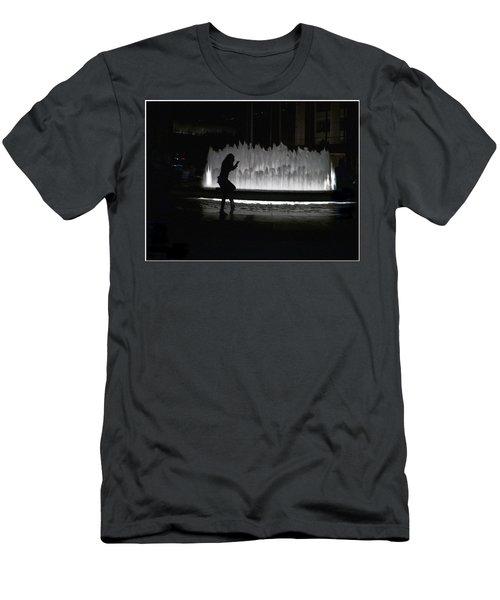 Dreamer At The Met Men's T-Shirt (Athletic Fit)