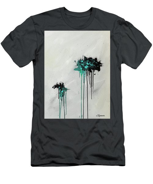 Men's T-Shirt (Slim Fit) featuring the painting Dreamers by Carmen Guedez