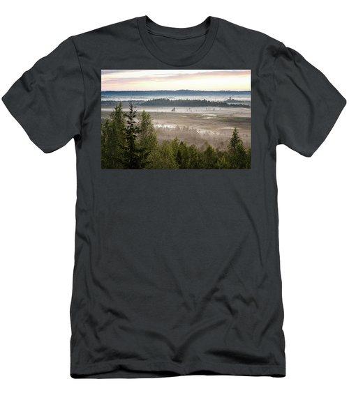 Dreamlike Landscape Men's T-Shirt (Athletic Fit)