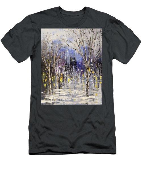 Dreamt Of Driving Men's T-Shirt (Slim Fit) by Tatiana Iliina