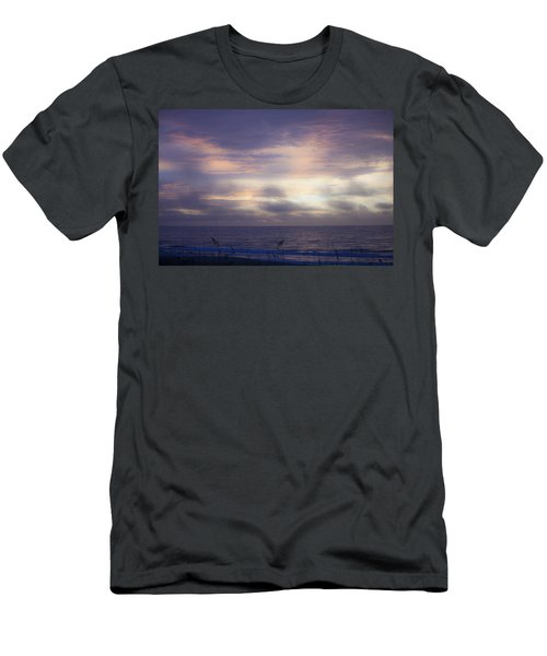 Dreamy Blue Atlantic Sunrise Men's T-Shirt (Athletic Fit)