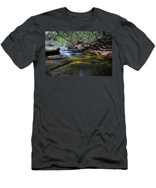 Dreamy Creek Men's T-Shirt (Athletic Fit)