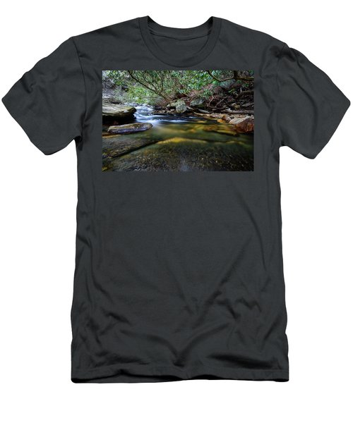 Dreamy Creek Men's T-Shirt (Athletic Fit)