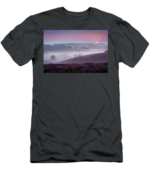 Dreamy Morning Men's T-Shirt (Athletic Fit)