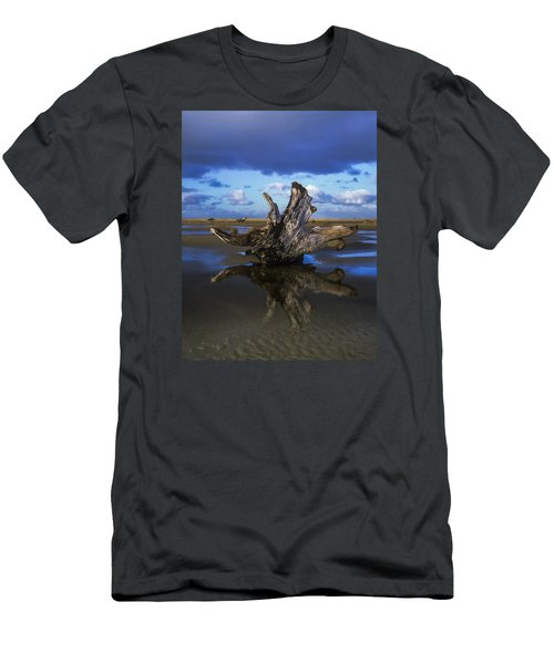Driftwood And Reflection Men's T-Shirt (Athletic Fit)