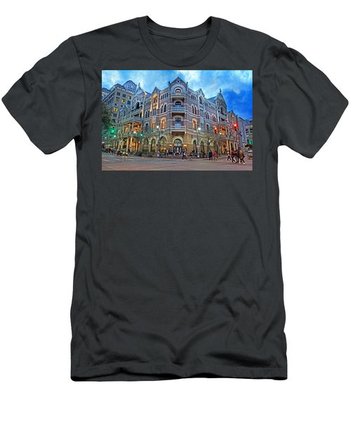 Driskill Hotel Light The Night Men's T-Shirt (Athletic Fit)
