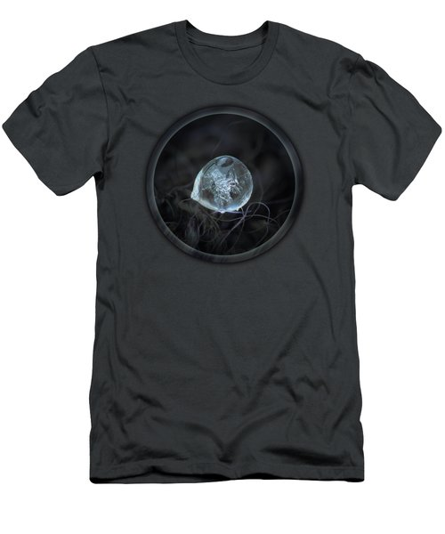 Drop Of Ice Rain Men's T-Shirt (Athletic Fit)