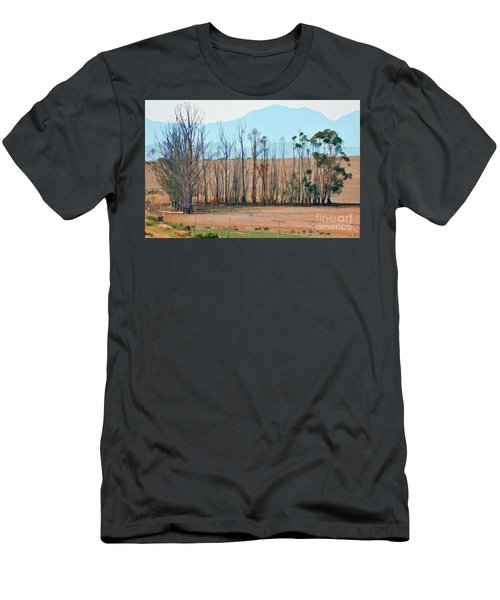 Drought-stricken South African Farmlands - 3 Of 3 Men's T-Shirt (Athletic Fit)