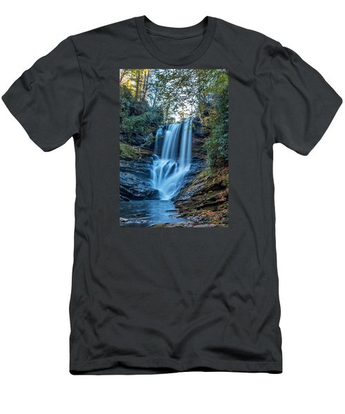Dry Falls From The Base Men's T-Shirt (Athletic Fit)