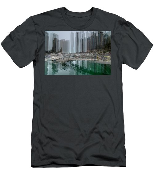 Dubai Marina  Men's T-Shirt (Athletic Fit)