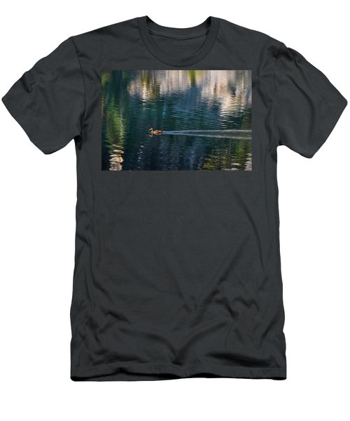 Duck Waves Men's T-Shirt (Athletic Fit)