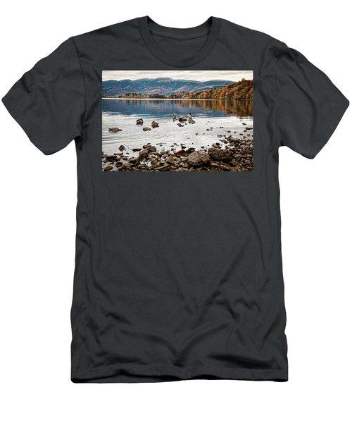 Ducks On Derwent Men's T-Shirt (Athletic Fit)