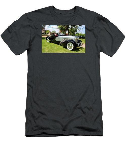 Men's T-Shirt (Slim Fit) featuring the photograph Duesenberg Vii by Michiale Schneider