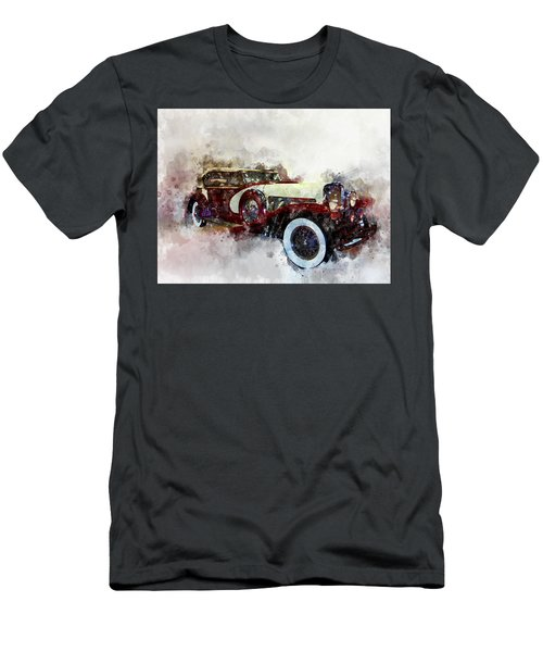 Duesenberg Watercolor Men's T-Shirt (Athletic Fit)