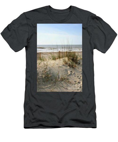Dune Men's T-Shirt (Slim Fit) by Angela Rath