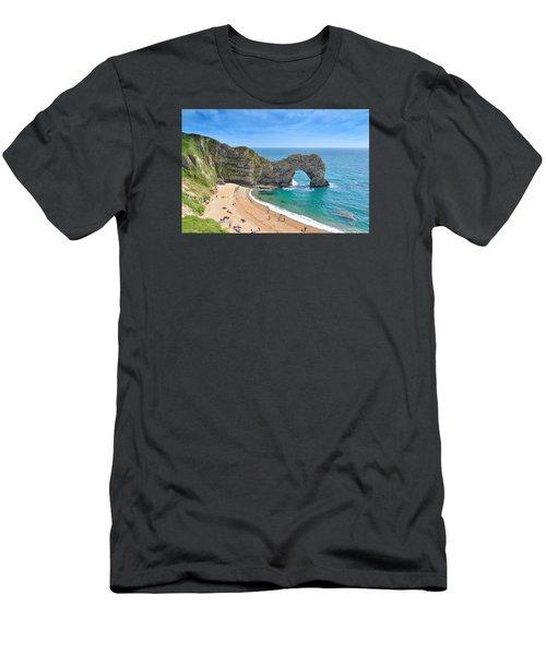 Durdle Door 2 Men's T-Shirt (Athletic Fit)