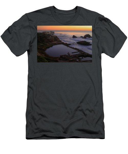 Dusk At Sutro Baths Men's T-Shirt (Athletic Fit)