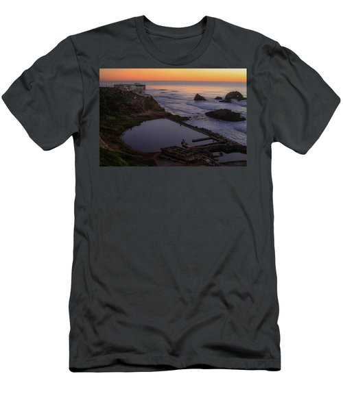 Dusk At Sutro Baths Men's T-Shirt (Athletic Fit)