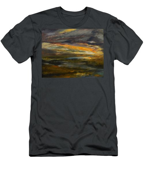 Dusk At The River Men's T-Shirt (Athletic Fit)