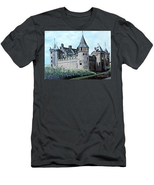 Dutch Castle In Muiden Men's T-Shirt (Athletic Fit)