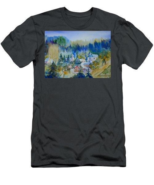 Dutch Flat Hamlet#3 Men's T-Shirt (Athletic Fit)