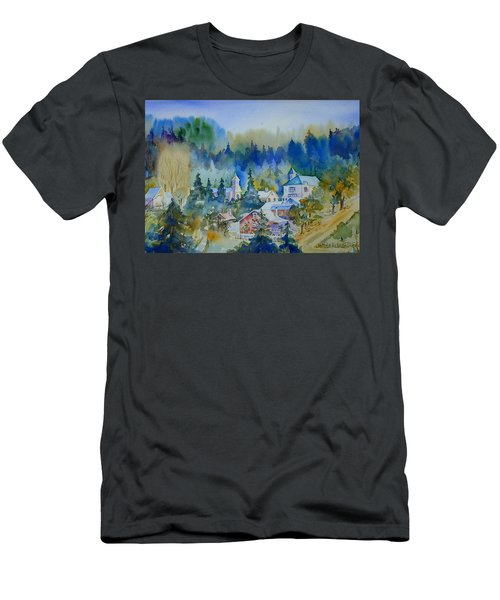 Dutch Flat Hamlet#3 Men's T-Shirt (Athletic Fit)