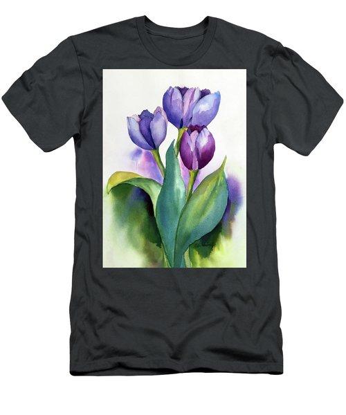 Dutch Tulips Men's T-Shirt (Athletic Fit)