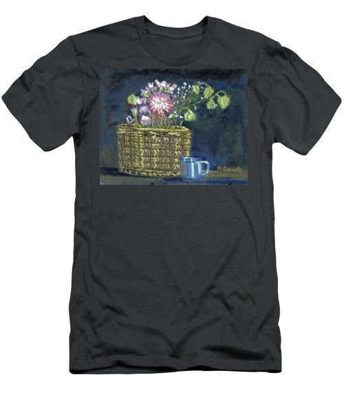 Dying Flowers Men's T-Shirt (Slim Fit) by Michael Daniels
