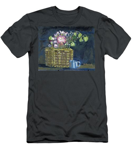 Dying Flowers Men's T-Shirt (Athletic Fit)