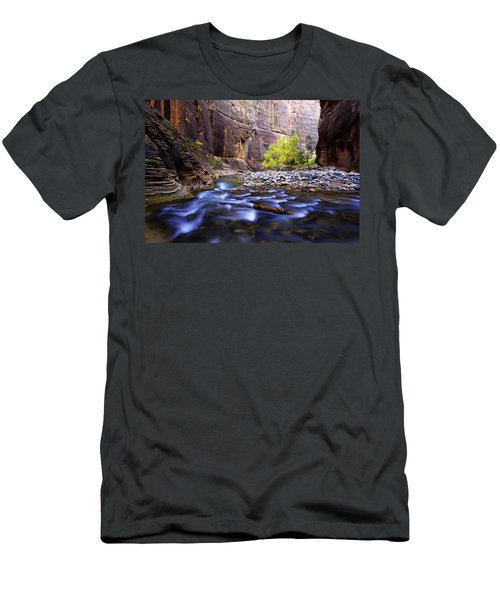 Men's T-Shirt (Slim Fit) featuring the photograph Dynamic Zion by Chad Dutson