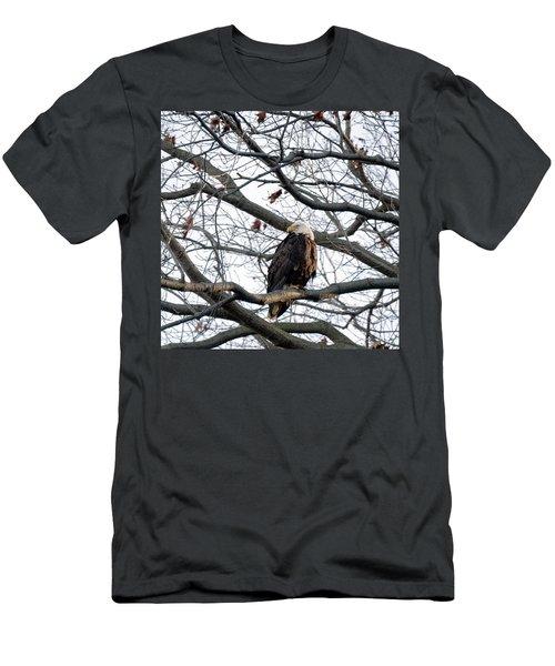 Eagel 0 Men's T-Shirt (Athletic Fit)