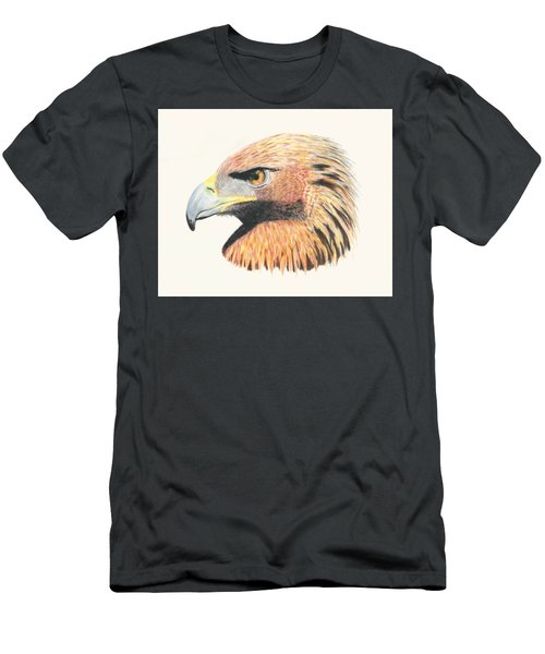 Eagle Eye  No Border Men's T-Shirt (Athletic Fit)
