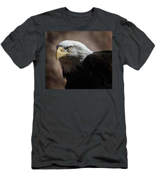 Men's T-Shirt (Slim Fit) featuring the photograph Eagle Eyed by Marie Leslie