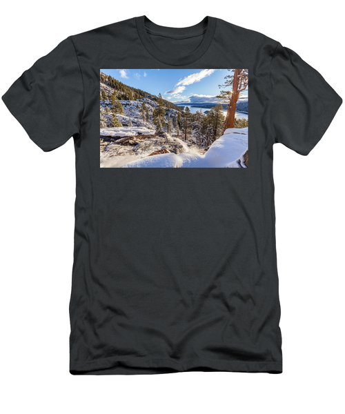 Eagle Falls Men's T-Shirt (Athletic Fit)