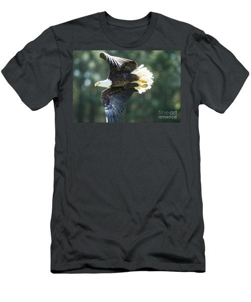 Eagle Flying 3005 Men's T-Shirt (Athletic Fit)