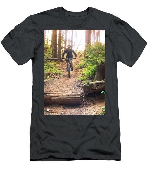 Eagle Jump Men's T-Shirt (Athletic Fit)
