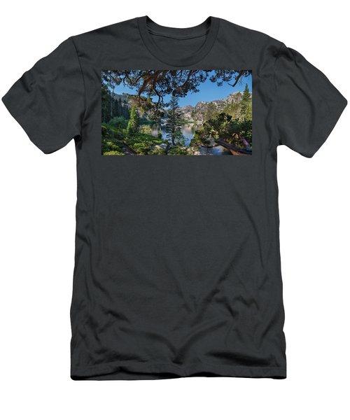 Eagle Lake - 2 Men's T-Shirt (Athletic Fit)